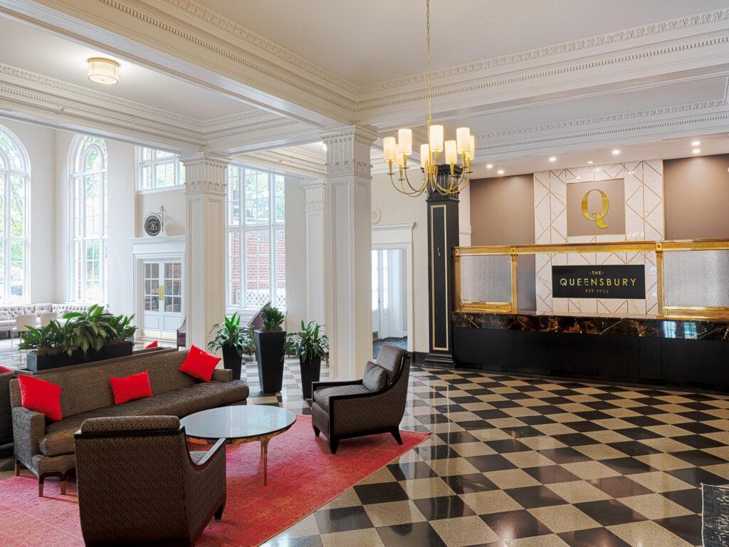 Queensbury Hotel Lobby