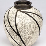 Clay vessel by Dolores Thomson