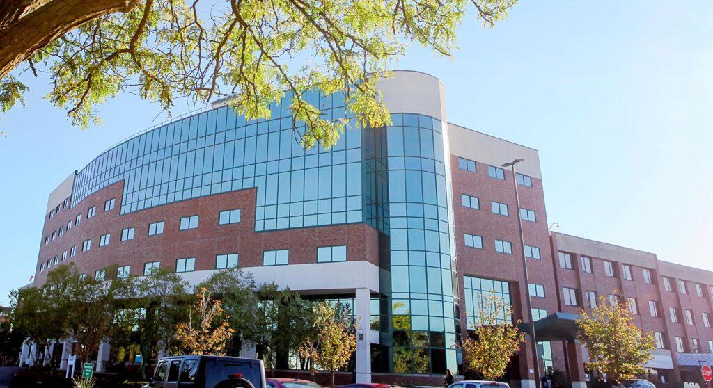 Exterior photo of GF Hospital